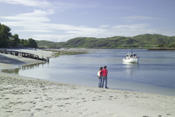 Beachside on Loch Morar