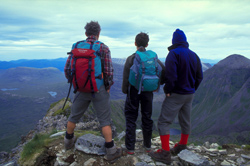 Walkers in Torridon