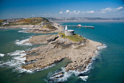 Mumbles Lighthouse, Swansea