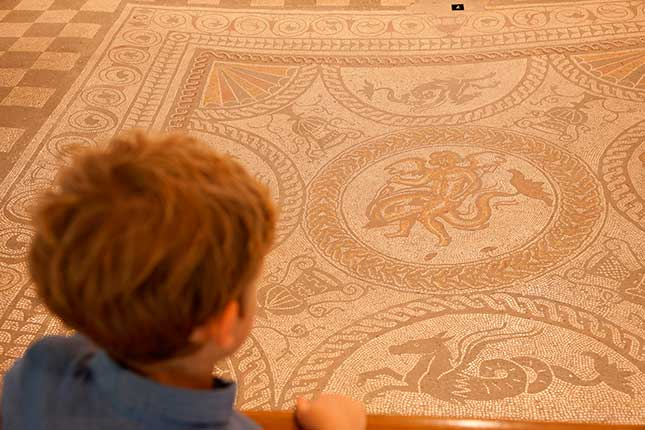 Fishbourne Roman Palace / Sussex Archaeological Society, roman britain