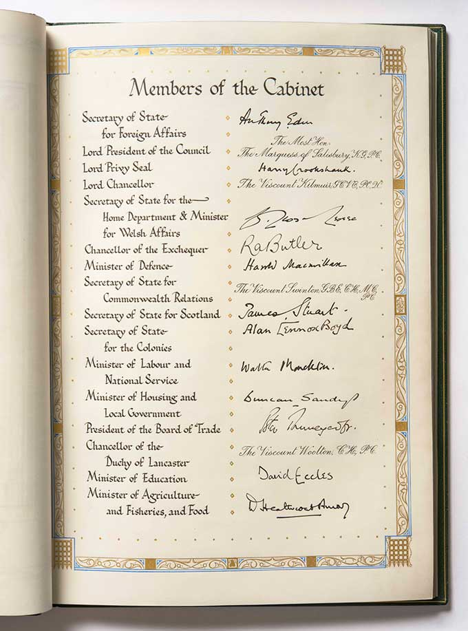 The House of Commons Birthday Book, Churchill, Chartwell
