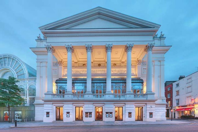 The Royal Opera House, London. Credit: The Royal Opera House