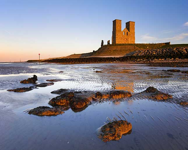 Reculver Towers Credit: English Heritage/Paul Marsch
