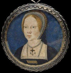 Portrait of the young Mary I of England, ca 1521-1525. Credit: Heritage Image Partnership Ltd/Alamy