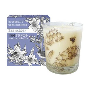 bluebell, candle