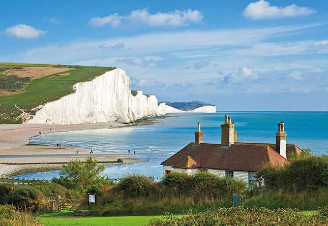 South Downs National Park, seven sisters, medieval sussex