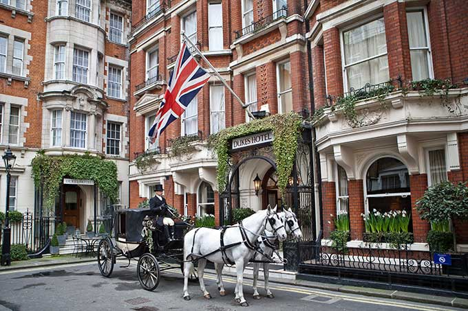 Duke's Hotel, Mayfair, London