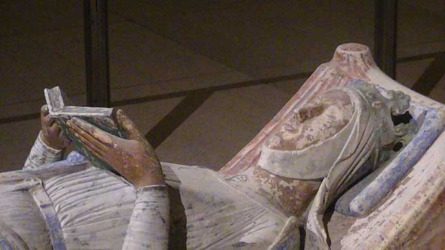 Effigy of Eleanor of Aquitaine in the church of Fontevraud Abbey Credit: Adam Bishop/Wikipedia