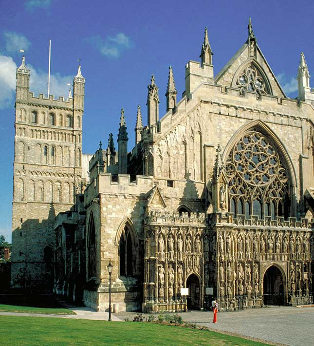 Exeter, Devon, Cathedral
