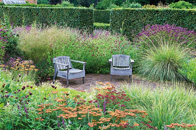 The Perennial Meadow Scampston Walled Garden Credit: Marcus Harpur