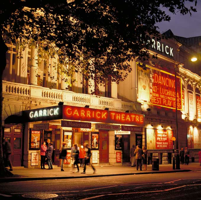 Garrick Theatre, London theatre | The best theatre venues in London | London's West End