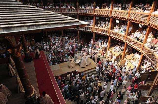shakespeare's globe, bankside, london