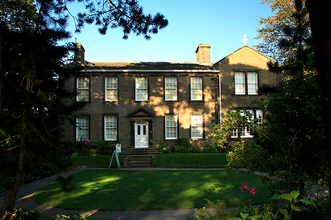 Bronte Parsonage Museum, Haworth - former home of English writers Charlotte, Anne and Emily Brontë. Credit: VisitEngland/VisitBradford