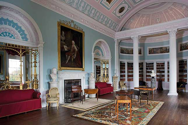 Kenwood House, library, stately houses | Britain's best stately homes | 25 best stately homes