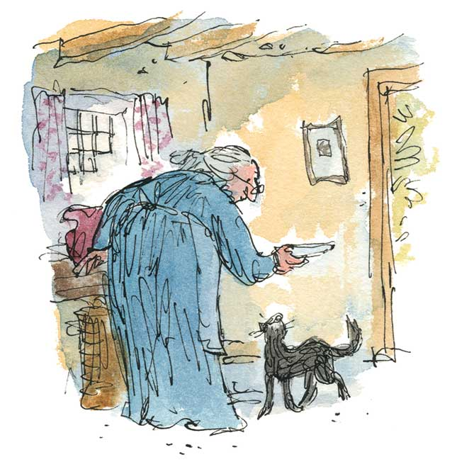 Quentin Blake, Kitty in Boots, Quentin Blake
