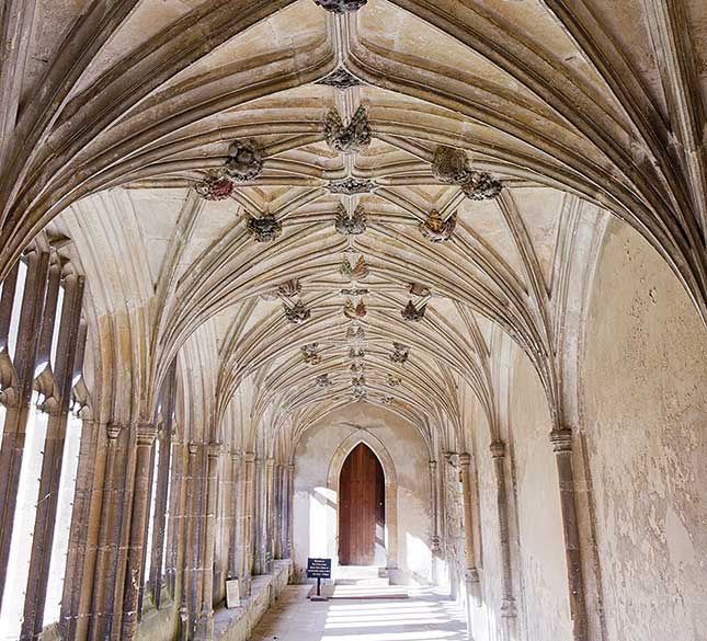 Lacock Abbey, Wiltshire, stately homes