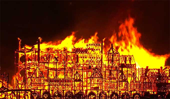 Image result for the great fire of london