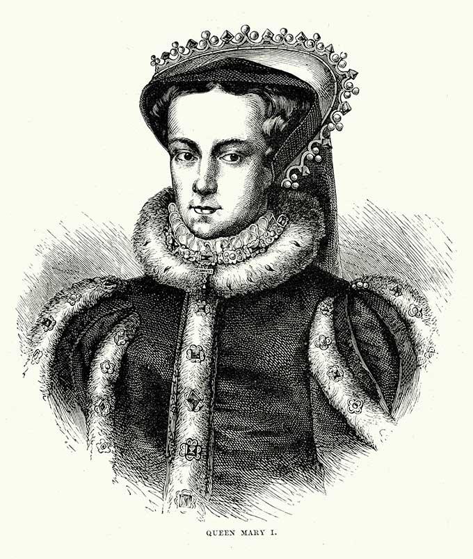 Mary I. iStock