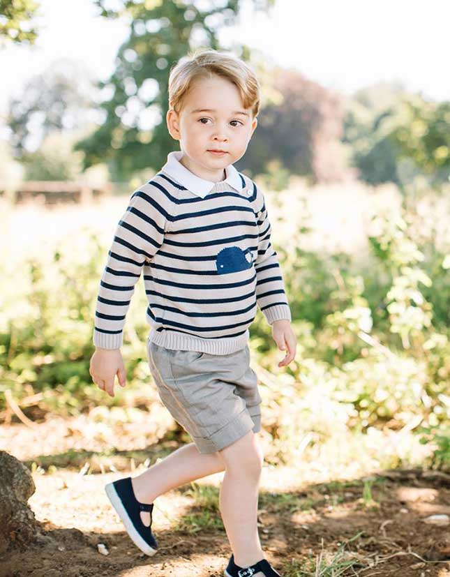 Prince George, birthday