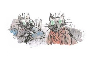 Kitty in Boots, Quentin Blake, Beatrix Potter