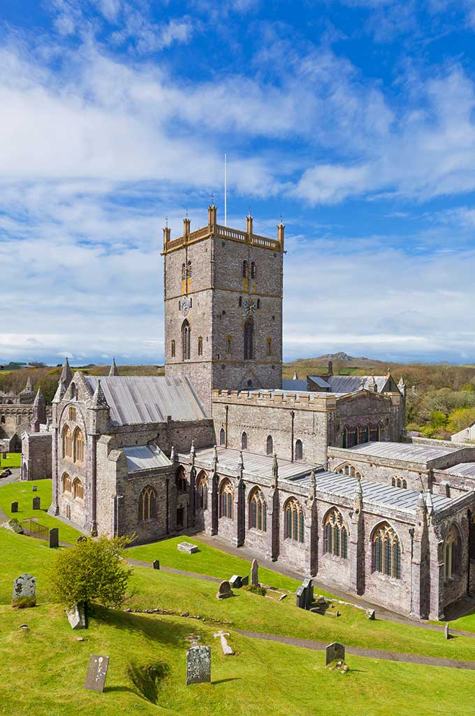St Davids Cathedral, Pembrokeshire