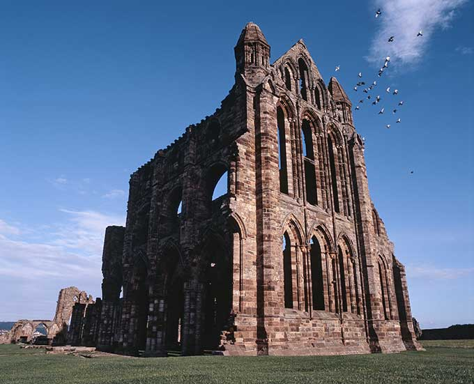 Whitby Abbey. Credit: English Heritage