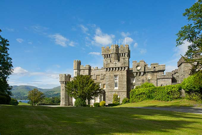 Wray Castle, Ambleside, Lake District National Park, Cumbria